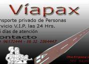 Radiotaxis aeropuertoviapax 32  2864447 / 9   965724444 todo el año 24 hrs.