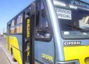 Vendo taxi bus mercedes benz modelo ciferal año 98