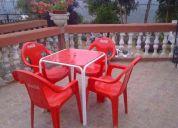 Arriendo de mesas sillas ymezones