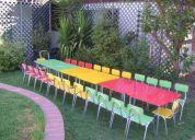Arriendo mesas y sillas para niÑos 92360872