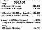 Claro hogar tv cable- internet -telefónia