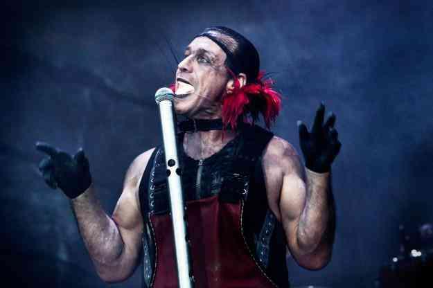 Me ofresco como vocalista para Rammstein