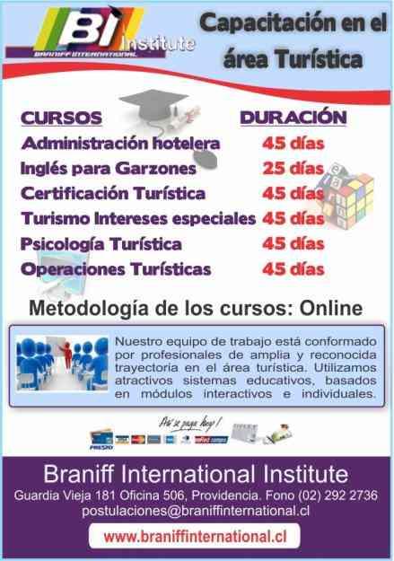 Ingles para garzones online