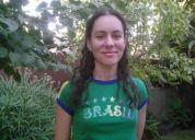 Aprenda portugues con profesora brasileña