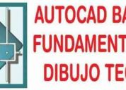 Clases de autocad basico + fundamentos del dibujo tecnico