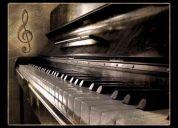 Clases de piano teclado bajo guitarra