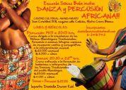 ::::danza y percusiÓn africana:::