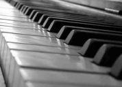 Clases particulares de piano o teclado ( egresado u.chile )