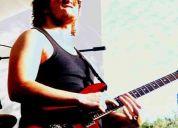 Clases de guitarra eléctrica musico diplomado en guitarra electrica y composición musical