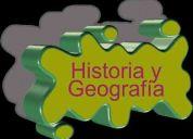 Clases particulares de historia geografía y ciencias sociales y psu