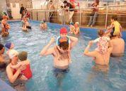 cursos de natacion  todos los  nivles  y  edades