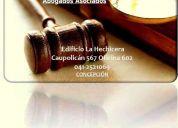 Abogados concepciÓn-talcahuano-coronel comunas cercanas