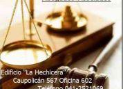 Abogados, asesorías jurídicas a empresas.