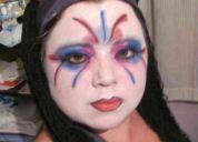 Actriz-animadora de eventos infantiles-maquillajes teatrales
