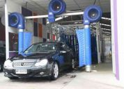 Chofer lavador automoviles