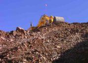 Operadores excavadora sin trabajo