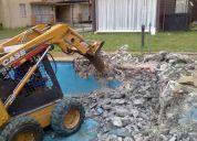 se ofrece servicio de demolicion en concepcion