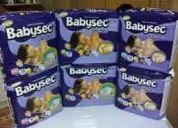 Venta de paÑales babysec premium formato normal y formato jumbo