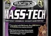 Proteina ganador de peso gainer mass tech 5 lbs masa fuerza!