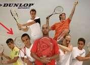 Raqueta de tennis dunlop