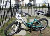 Vendo bicicleta para niÑa lashen aro 20