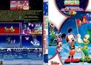 La casa de mickey mouse, coleccion completa en dvd, 21 dvds