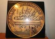Vendo vinilo brass construccion iv excelente estado disco en su bolsa original !! $20.000