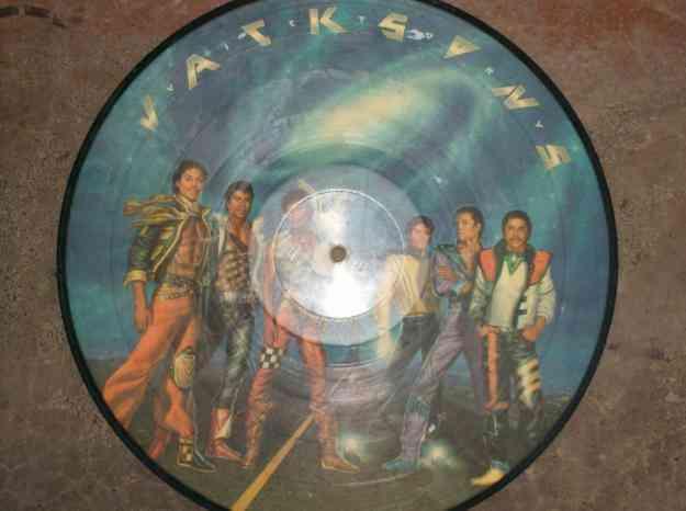 disco vinilo de los hermanos jackson