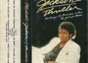 Michael jackson thriller cassette excelente estado original