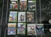Se venden 9 juegos originales de xbox 360