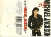 Michael jackson bad cassette original excelente estado