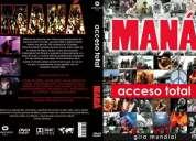 vendo dvd de mana en vivo gira mundial acceso total