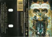 Michael jackson dangerous cassette original excelente estado