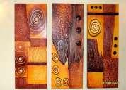 Cuadros - oleos - abstractos - etnicos - modenos - decorativos