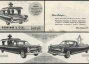 Busco información sobre coches fúnebres de tiempos pasados