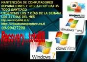 Rescate de datos discos duros pendrives tarjetas flash sd,sdhc,mf,cf
