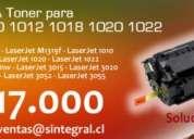 Toner para impresores 1010-1012-1018-10120-1022
