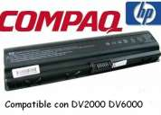 Bateria notebook compaq v3000 f500 v6000, etc  a $25.000