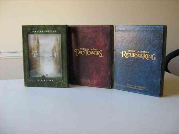 El Señor De Los Anillos - Trilogía Extendida Dvd (10 Discos)