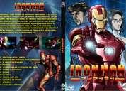 Serie anime iron man + blade