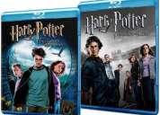 Subasta harry potter 3 y 4 blu-rays originales desde 2 lukas!!!