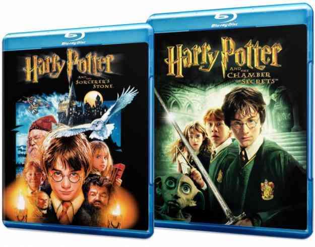 Harry Potter 1 y 2 Blu-rays originales, DESDE 2 LUKAS!!!