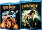 Harry potter 1 y 2 blu-rays originales, desde 2 lukas!!!