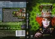 Dvd original nuevo - pelicula  alicia en e pais de las maravillas.(tim burton)