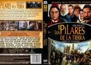 Los pilares de la tierra  dvd serie tv