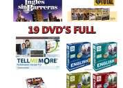Ingles sin barreras + auto ingles total+ tell me more, etc 19 dvd's full