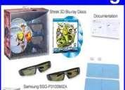 Vendo lentes 3d samsung starter kit 2011