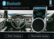 Bluetooth solar para el auto con parlante regalo de navidad tecnologico