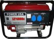 Generador, generadores diesel, bencinero, gasolina, gas, alternadores