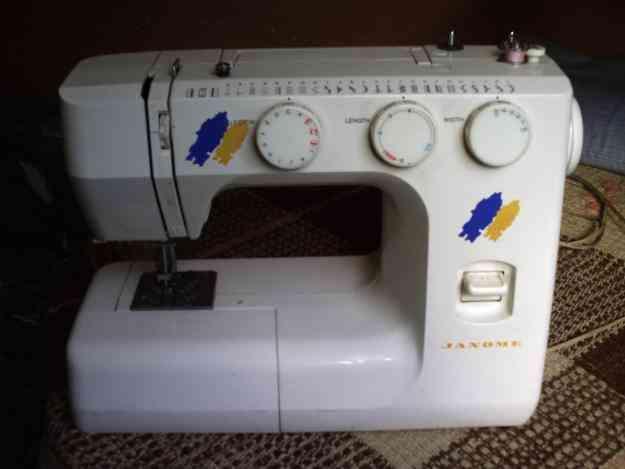 Vendo màquina de coser Janome
